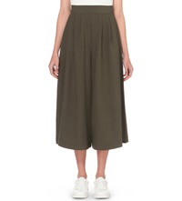 French Connection Aro Wide Leg Trousers Khaki