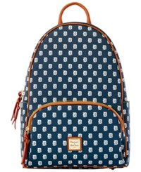 Dooney And Bourke Detroit Tigers Signature Backpack Navy