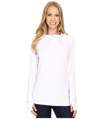 Exofficio Sol Cool Ultimate Hoody White Women's Clothing