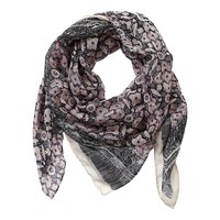 Betty Barclay Scarf Grey Rose