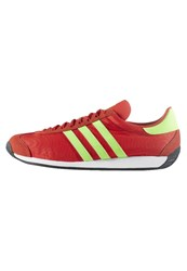 Adidas Originals Country Trainers Red Solar Green Vintage White