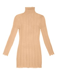 Gucci Lace Effect Cashmere And Silk Blend Sweater