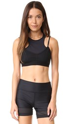 Free People Movement Fly Girl Bra Black Combo