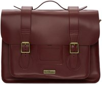 Dr. Martens Red Leather Messenger Bag