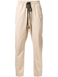 Bassike 'Compact Combat Ii' Trousers Brown