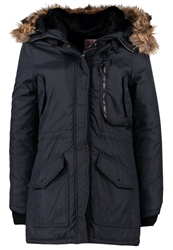 Schott Nyc Parka Navy Dark Blue