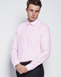 The Idle Man Smart Shirt In Light Pink