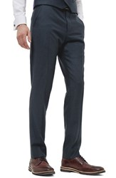 Ted Baker Men's London 'Debonair' Flat Front Solid Wool Trousers