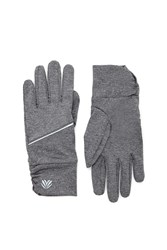 Forever 21 Active Reflective Gloves Charcoal