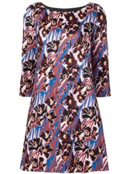 Creatures Of The Wind Floral Jacquard Dress Black