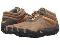 Vibram Fivefingers Trek Ascent Insulated Tan Grey Black Men's Shoes Brown