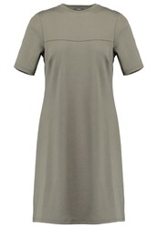 Kiomi Jersey Dress Oliv