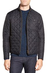 Men's Barbour 'Axle' Slim Fit Diamond Quilted Moto Jacket