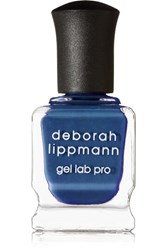 Deborah Lippmann Gel Lab Pro Nail Polish Smoke Gets In Your Eyes Storm Blue