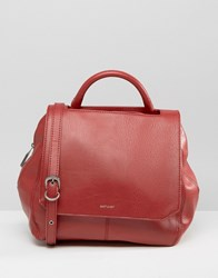 Matt And Nat Structured Tote Bag Bordeaux