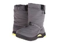 Baffin Ease Mid Grey Floro Green Men's Cold Weather Boots Gray