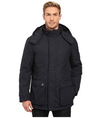Rainforest Platinum Twill Parka Navy Men's Coat