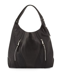 French Connection Ollie Faux Leather Tote Bag Black