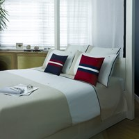Tommy Hilfiger Beige Colour Block Duvet Cover Double