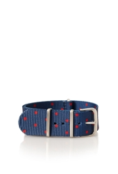 Forever 21 Polka Dot Watch Strap Navy Red