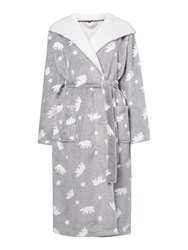 Therapy Polar Bear Robe Grey