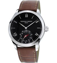 Frederique Constant Fc285b5b6 Stainless Steel Watch Black