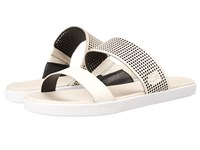 Lacoste Natoy Slide 216 1 Off White Black Women's Slide Shoes Multi