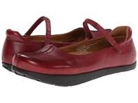 Earth Solar Kalso Bordeaux Women's Flat Shoes Burgundy