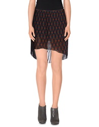 Twenty Easy By Kaos Mini Skirts Rust