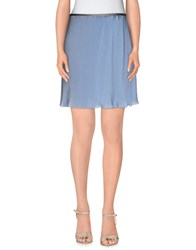 Emporio Armani Skirts Knee Length Skirts Women Sky Blue