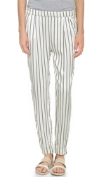 Won Hundred Bandy Pants Black Stripe