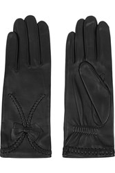Agnelle Silk Lined Leather Gloves