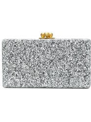 Edie Parker 'Jean Half And Half' Clutch Yellow And Orange