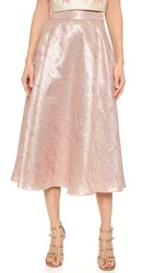 Lela Rose Full Skirt Blush