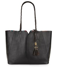 Nanette Lepore Leah Leather Tote Black