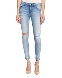 Hudson Lilly Distressed Ankle Jeans Rialto Women's Size 27