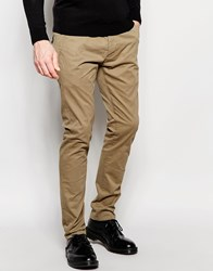 French Connection Stretch Skinny Chinos Green