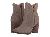 Seychelles Lori Penny Taupe Suede Women's Dress Boots