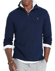 Polo Ralph Lauren Ribbed Cotton Pullover Cruise Navy