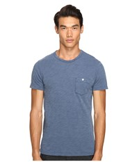 Todd Snyder Classic Pocket T Shirt Washed Royal