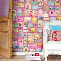 Pip Studio You've Got Mail Wallpower 313108 Pink