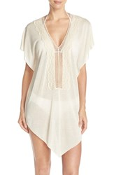Becca Women's 'Coastline' Cover Up Tunic Natural