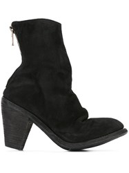Guidi Reverse High Heel Boots Black
