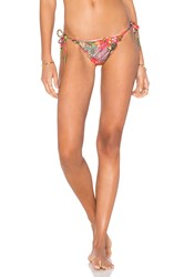 Salinas Side Tie Bikini Bottom Orange
