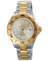 Invicta Men's Automatic Pro Diver Two Tone Stainless Steel Bracelet Watch 47Mm 3050