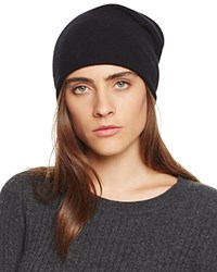 Bloomingdale's C By Bloomingdales Cashmere Angelina Slouch Hat Black