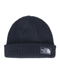 The North Face Navy Beanie Dog Large Stitch Patch Logo Hat Blue