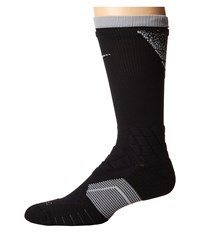 Nike 2.0 Elite Vapor Crew Fade Football Black Wolf Grey Wolf Grey Crew Cut Socks Shoes