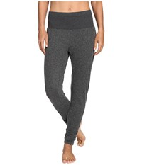 Alo Yoga Contour Sweat Pants Charcoal Heather Women's Casual Pants Gray