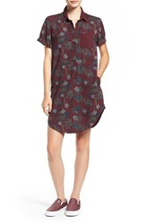 Vans Women's Floral Print Shirtdress